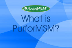 What is PurforMSM?
